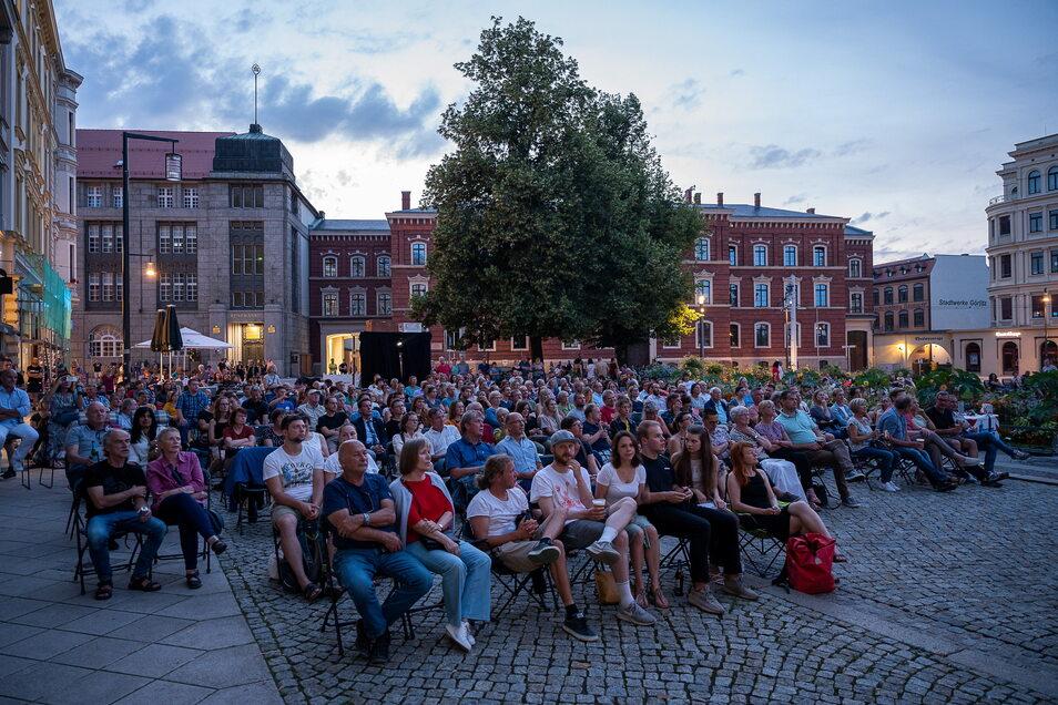 """Nach der Gesprächsrunde ging es weiter mit dem Film """"Fabian"""", der großteils in Görlitz gedreht wurde und dieses Jahr zur Berlinale startete."""