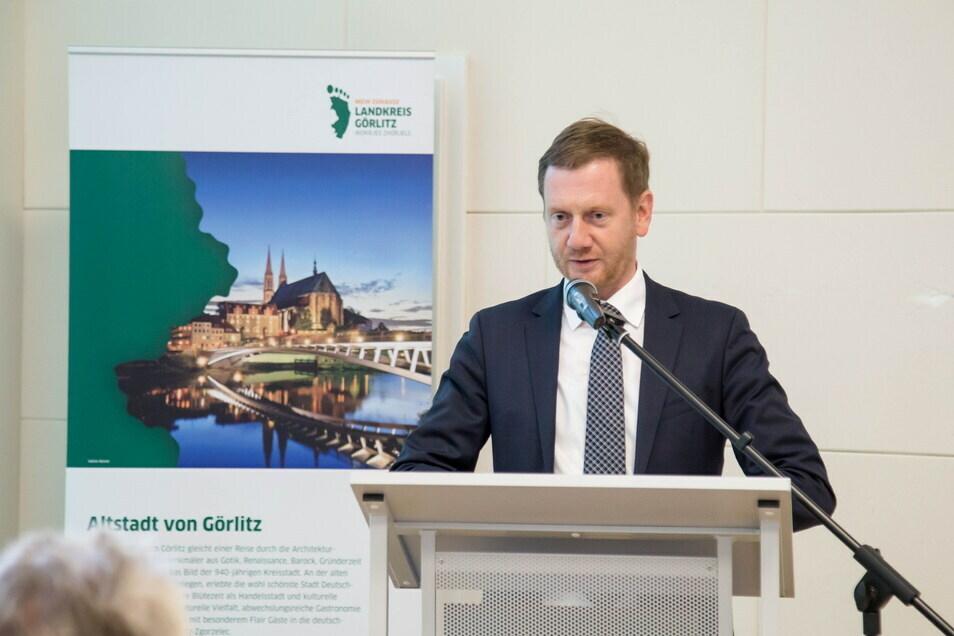Ministerpräsident Michael Kretschmer (CDU) wurde im Wahlkreis Görlitz als Direktkandidat in den sächsischen Landtag gewählt.