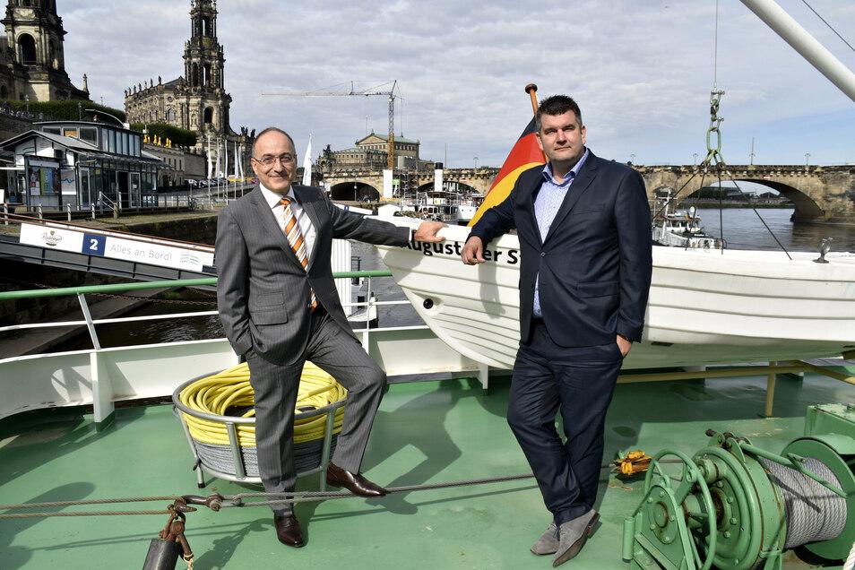 Neben Straubhaar ist der gebürtige Kamenzer Stefan Bloch gleichberechtigter Chef bei der Flotte.
