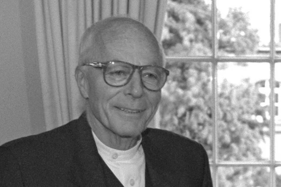 Gottfried Böhm starb im Alter von 101 Jahren.