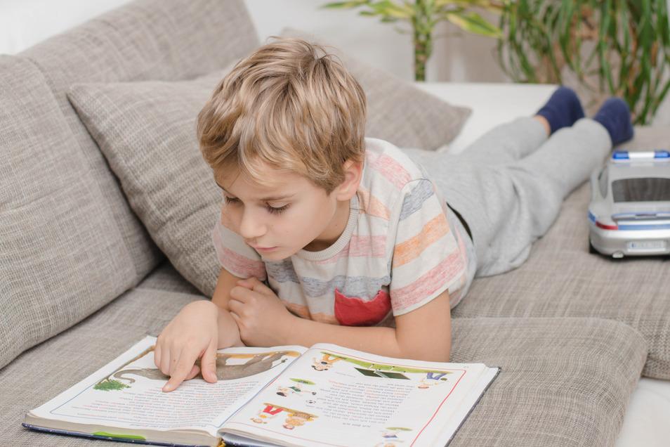 Besonders Regentage verlocken dazu, es sich mit einem spannenden Buch auf dem Sofa gemütlich zu machen.