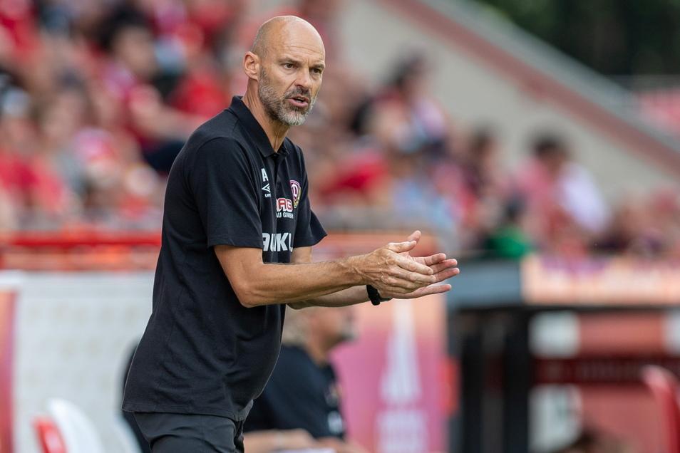 Trainer Alexander Schmidt sah beim 0:3 gegen Union noch einige Baustellen.