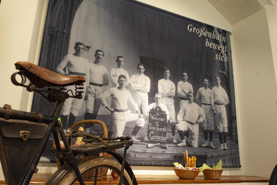 Großenhain bewegt sich - das war schon früher so, wie eine Ausstellung im Museum im Vorjahr belegte.