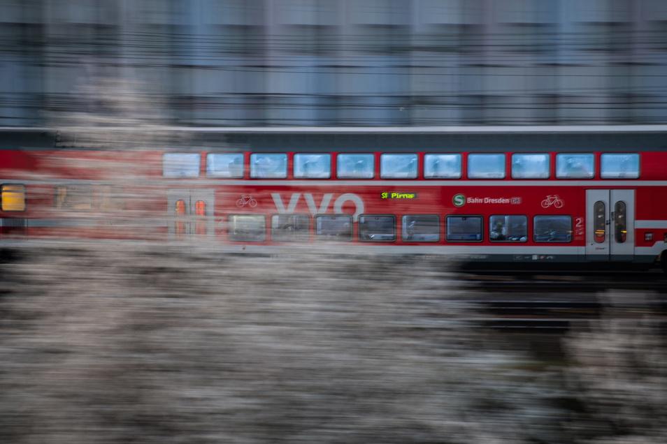 Am Donnerstag - dem Männertag - sind mehr Züge im Einsatz.