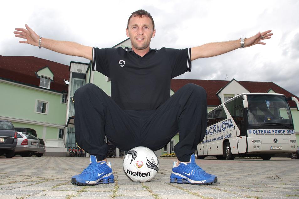 Als Marek Penksa im Sommer 2007 bei Dynamo im Trainingslager in Lutzmannsburg/Österreich auftauchte, stellte der Slowake die Szene von 1994 nach, mit der er die Schalker erzürnt hatte.