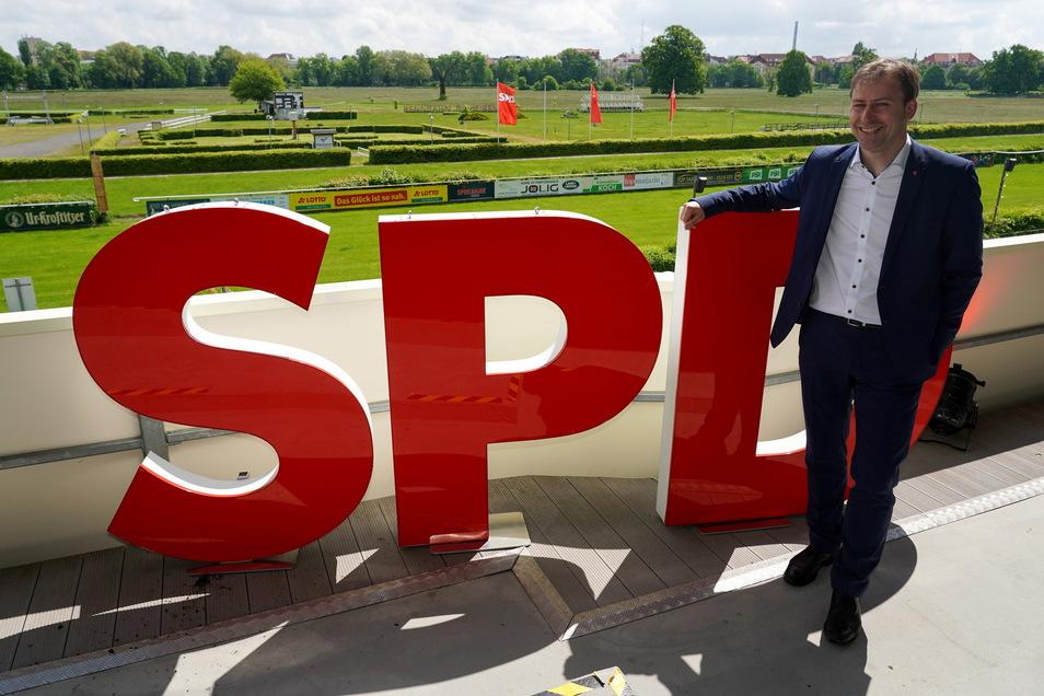 Holger Mann, Vorsitzender der SPD Leipzig, wurde zum Spitzenkandidaten der SPD Sachsen für den Bundestagswahlkampf gewählt.