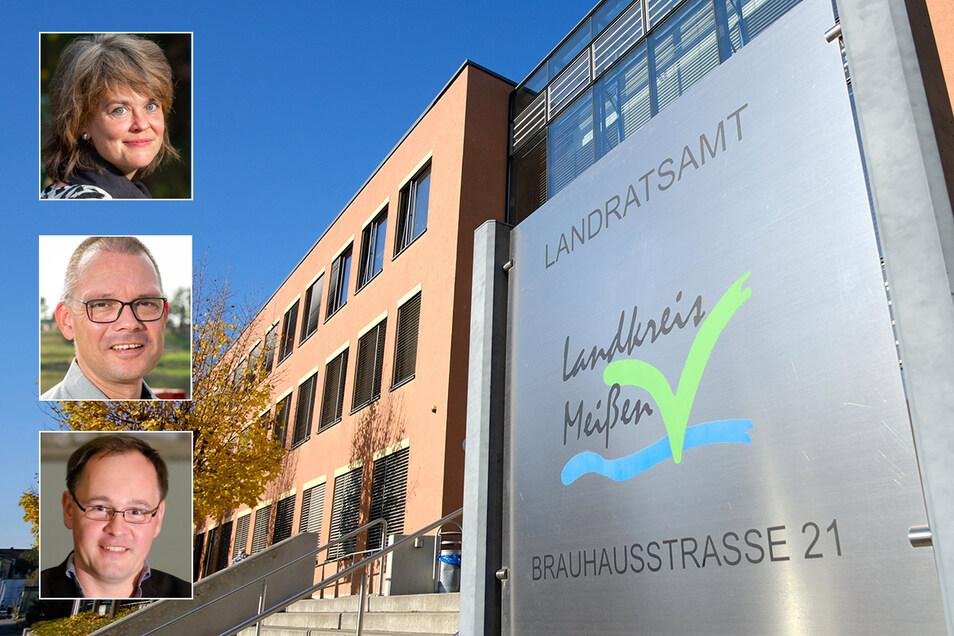 Was würden sie ändern, wenn sie am Sonntag zum neuen Landrat gewählt würden? Elke Siebert, Ralf Hänsel und Thomas Kirste haben 20 Fragen von Sächsische.de beantwortet.
