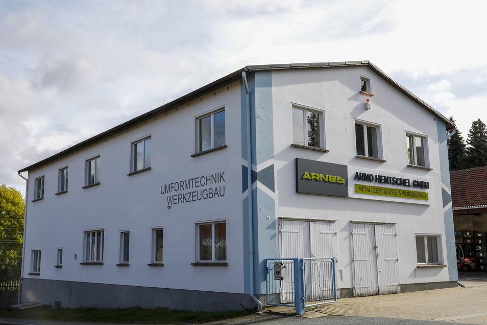 Noch in Oderwitz: Die Arno Hentschel GmbH, die Gitterroste herstellt und weltweit verkauft.