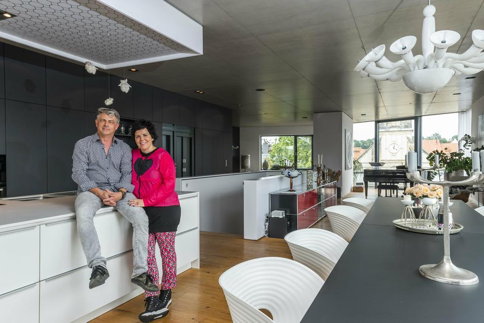 Das Architektenehepaar Uwe und Annette Katrin Seidel lebt in Pirna.