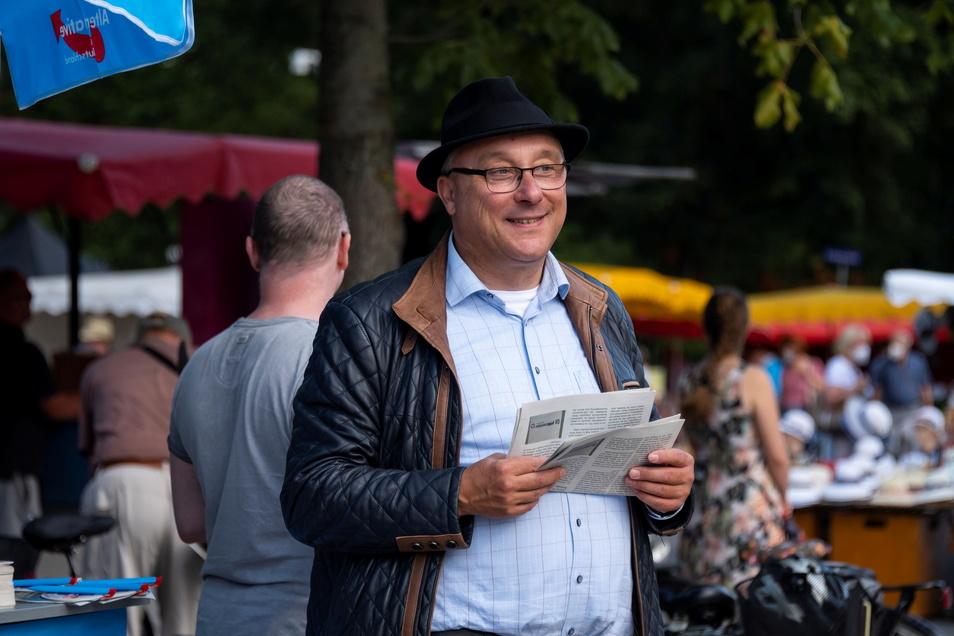 Jens Maier konnte das Direktmandat im Dresdner Wahlkreis 159 nicht gewinnen. Er scheiterte mit etwa 4.000 Stimmen Unterschied bei den Erststimmen an CDU-Kandidat Markus Reichel.