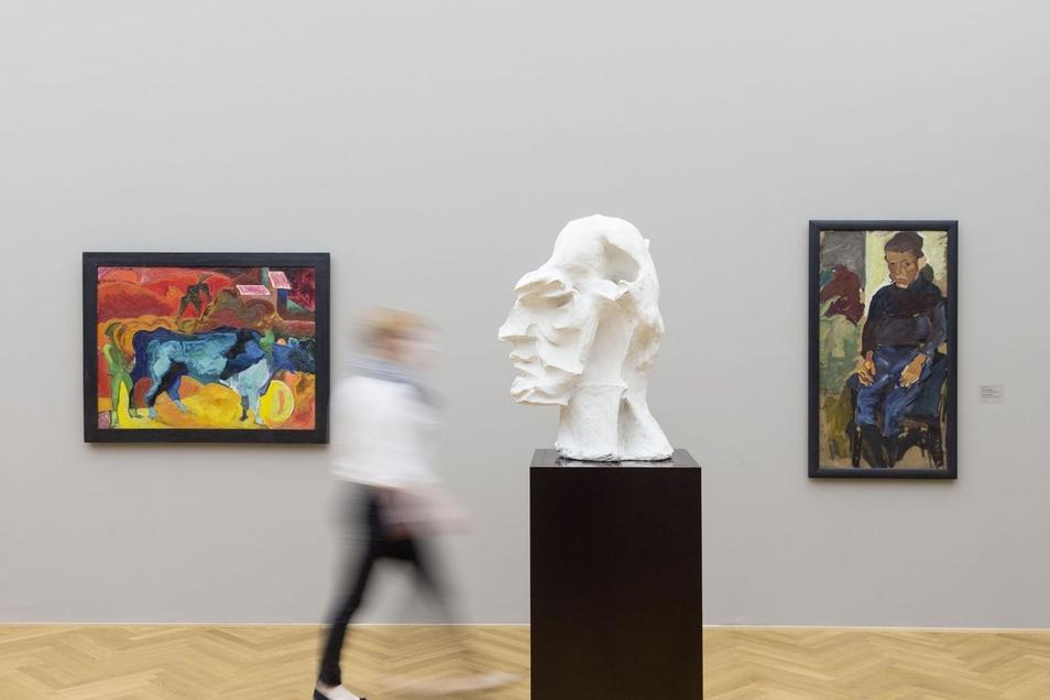 Menschenleer: Auch die Staatlichen Kunstsammlungen Dresden drängen die Corona-Krise mit virtuellen Rundgängen für einen Moment in den Hintergrund.