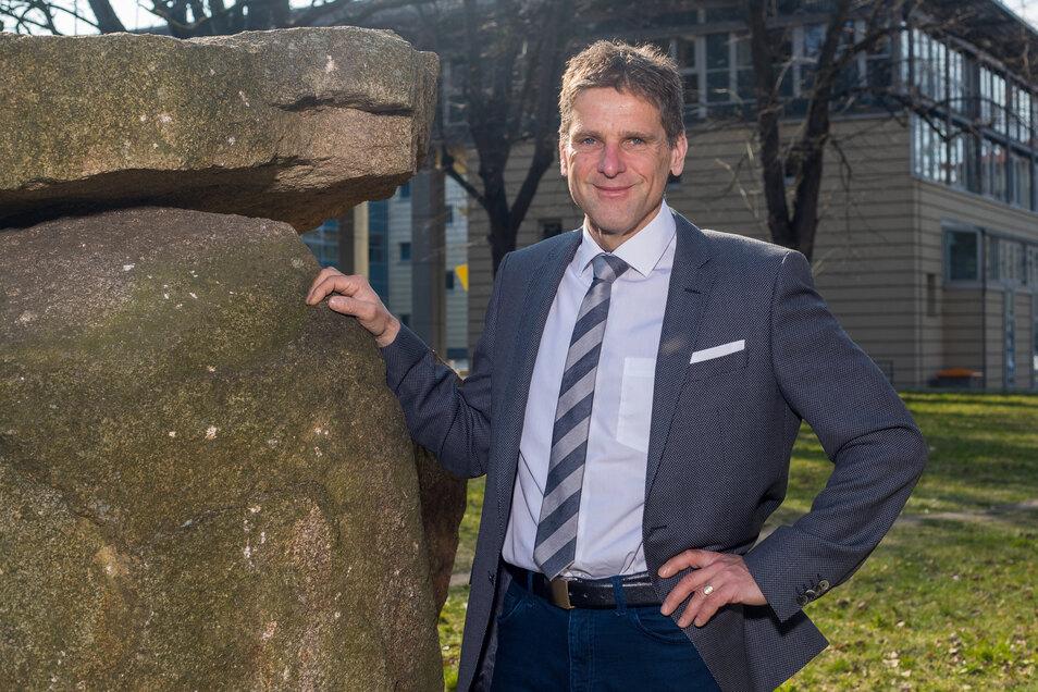 Sieht sich im Gerichtssaal als Macher: Alexander Klerch ist der neue Direktor des Pirnaer Amtsgerichts.