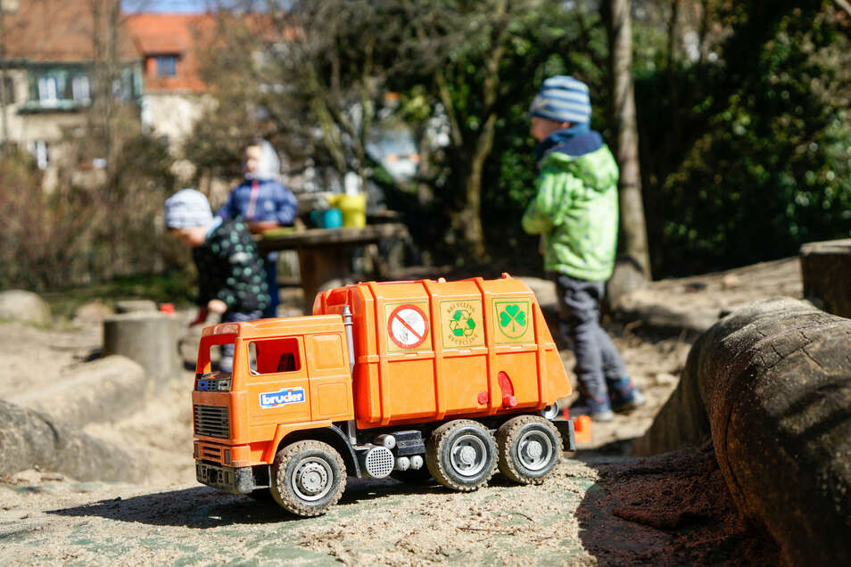 Auch im evangelischen Kindergarten Bautzen gibt es eine Notbetreuung.