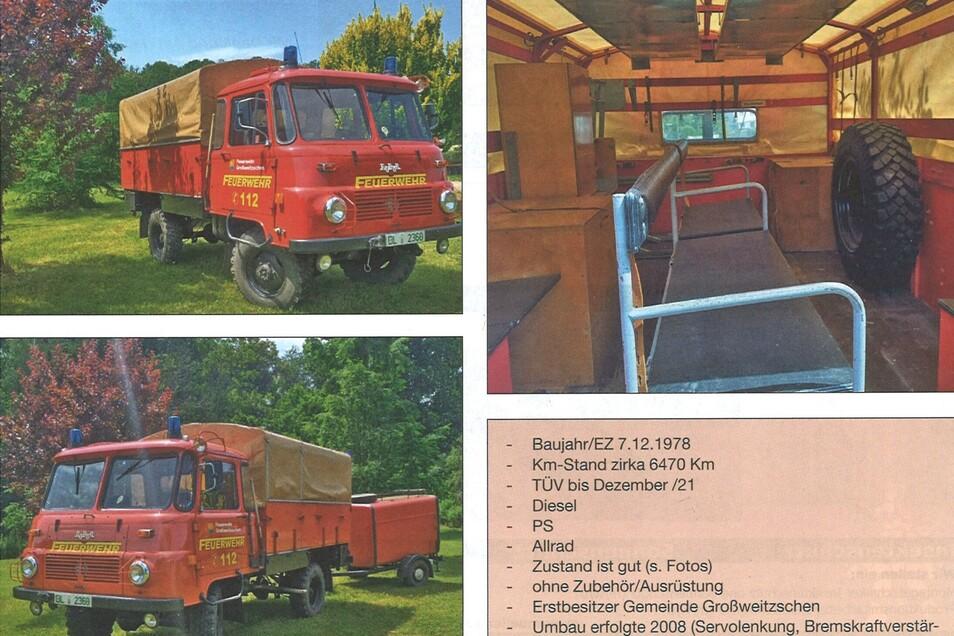 Der alte Robur LO aus dem Jahr 1978 steht derzeit zum Verkauf.