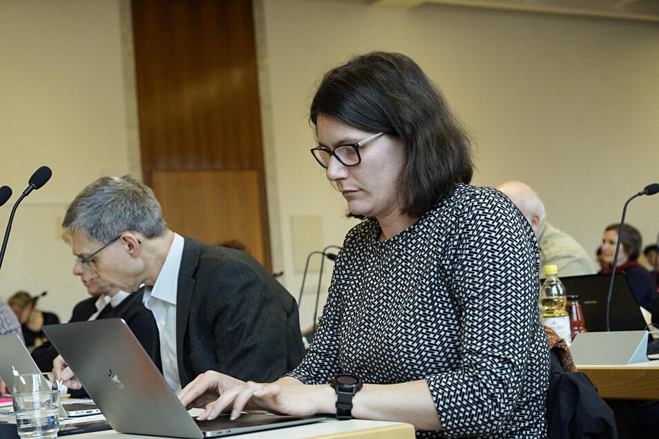 Annalena Schmidt ist Stadträtin der Grünen, eine Äußerung von ihr auf Twitter sorgt bei anderen Fraktionen für Empörung.