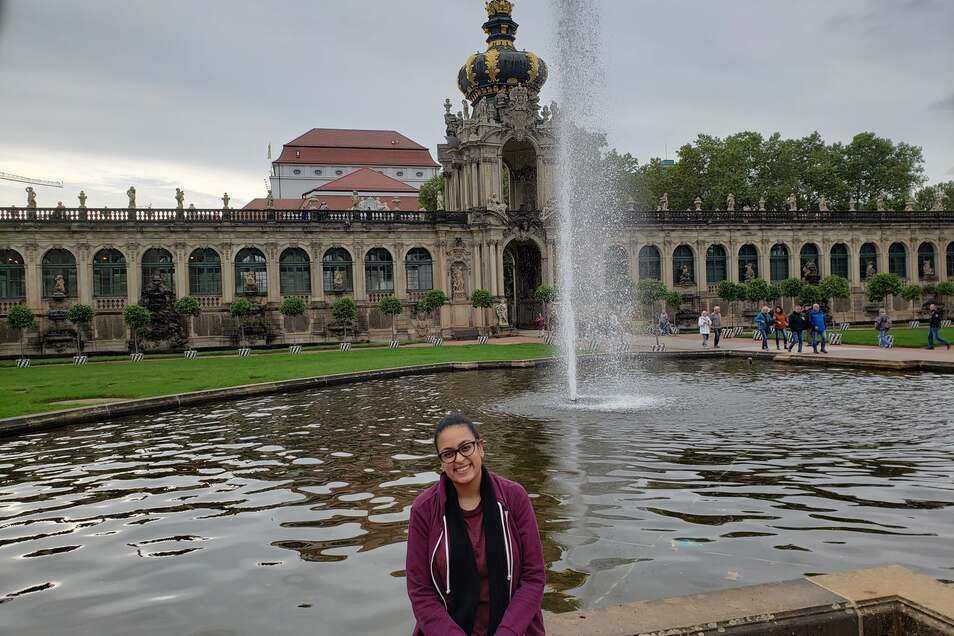 Mariam Sayed hat sich nicht von Dresdens rechtem Image von einem Studium an der TU abschrecken lassen. Und es nicht bereut.