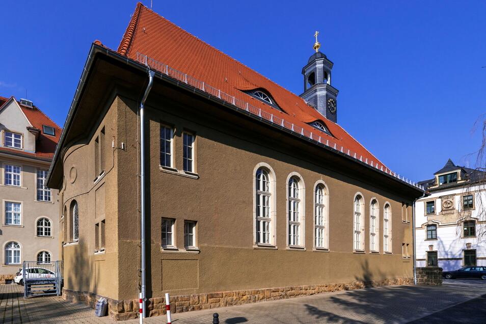 Die ehemalige Hospitalkirche in Pirna soll zu einem Kletterzentrum umgebaut werden.