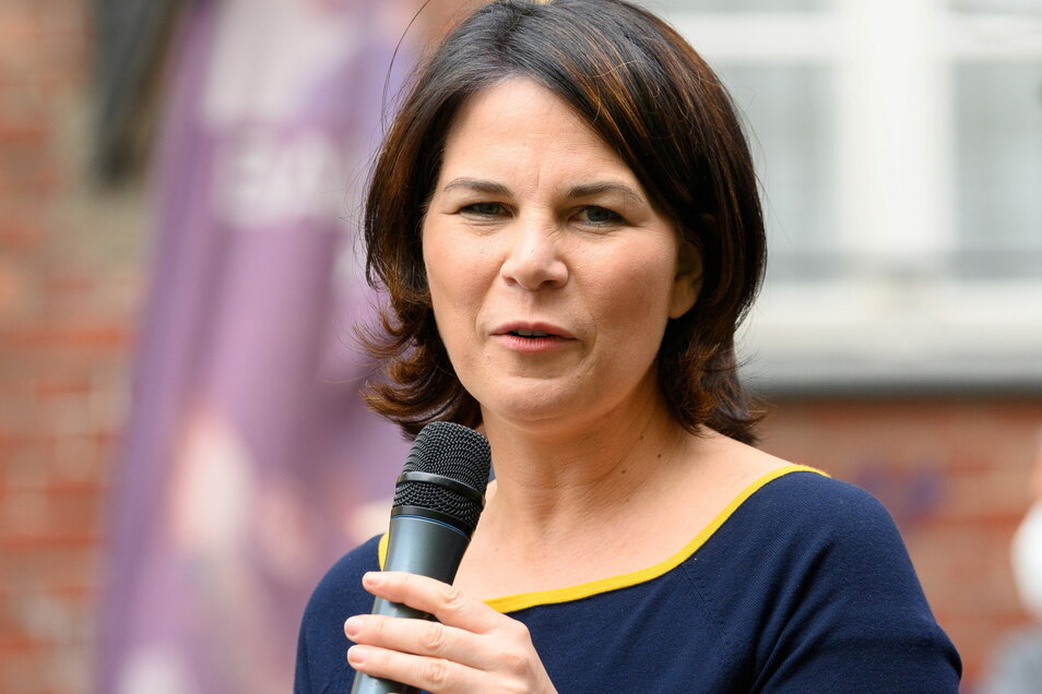 Annalena Baerbock, Kanzlerkandidatin von Bündnis 90/Die Grünen, hat zuletzt Fehler eingeräumt.