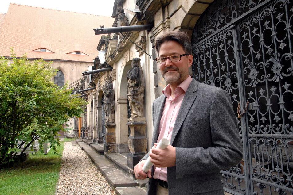 Marius Winzeler war von 2008 bis 2015 Leiter der Städtischen Museen Zittau.