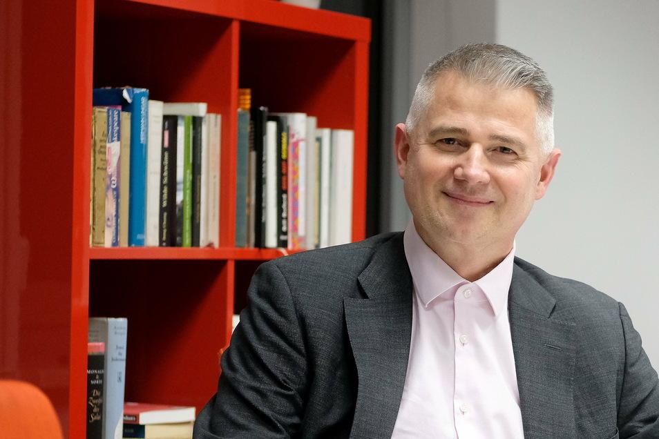 Kommt aus Berlin, ist aber in der Region Meißen geboren und aufgewachsen: Andreas Jahn (48). Er möchte das Bundestagsmandat von Thomas de Maiziére übernehmen. Sein Gegner ist der Meißner CDU-Kreischef.