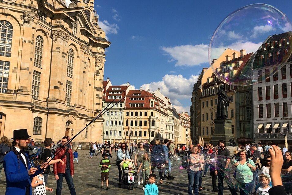 Heute wandeln wir beim Spaziergang der Woche auf Augusts Spuren durch Dresden.