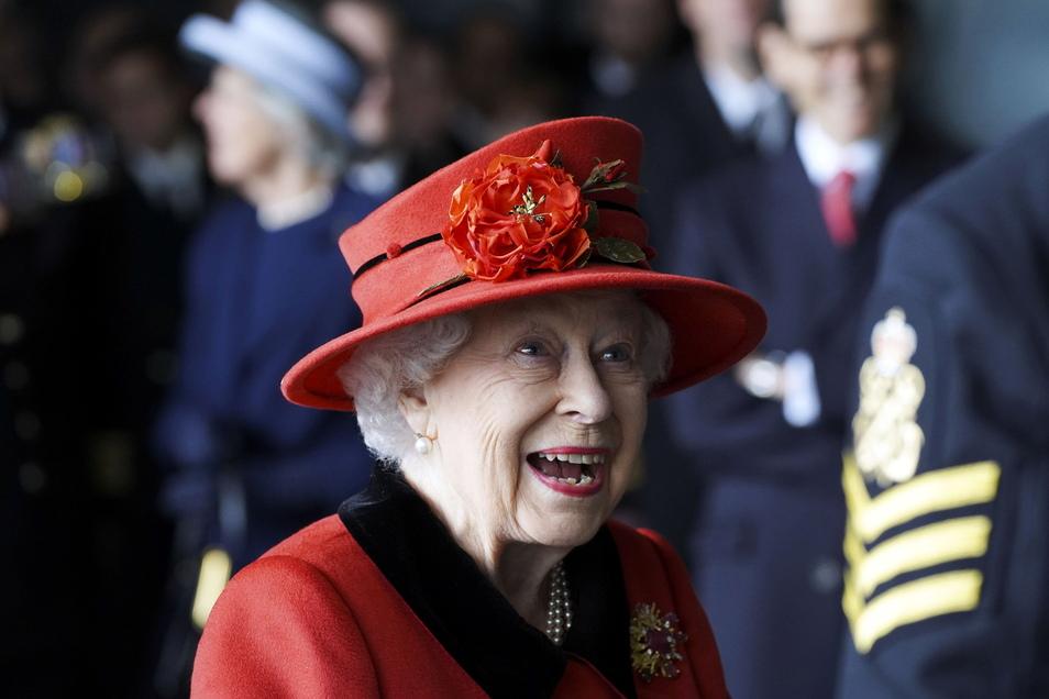 Die Queen wird US-Präsident Biden und seine Ehefrau auf Schloss Windsor empfangen.