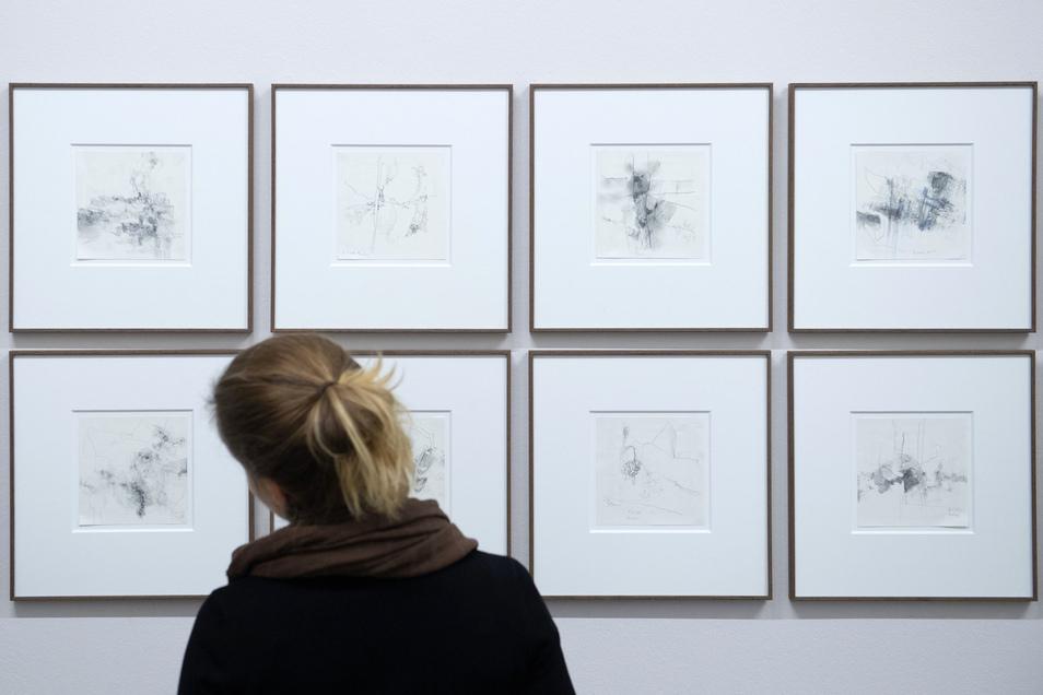 Gerhard Richters Bleistiftzeichnungen entstanden nach einer längeren Arbeitspause.