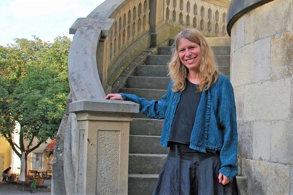 Kristin Gäbler wird Chefin auf Schloss Burgk.