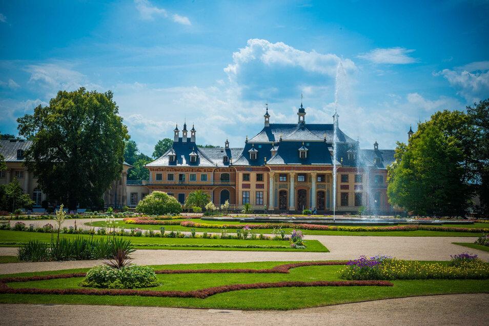 Schloss Pillnitz gehört zu den Früh-Öffnern. Seit dem 4. Mai kann das Schlossmuseum wieder besucht werden.