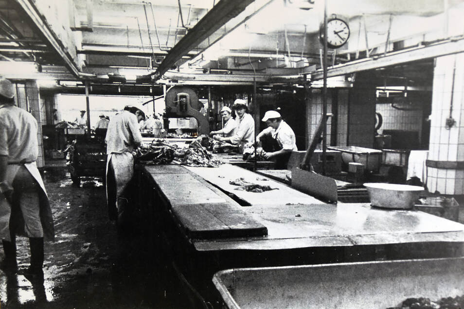 In der Zerlegeabteilung des Betriebes wurde sogar gelegentlich für das Berliner Politbüro produziert.