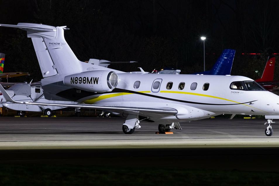 Mit diesem gecharterten Jet war AVP-Eigentümer Mathias W. jahrelang zu seinen Geschäftsterminen unterwegs.