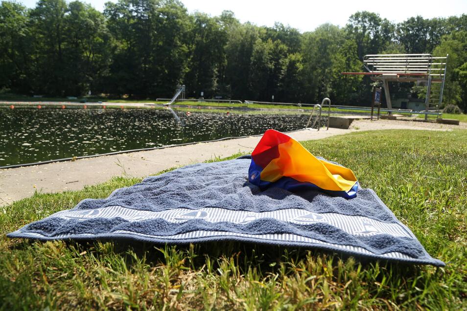 Das Glaubitzer Freibad bleibt trotz Temperaturen über 30 Grad derzeit geschlossen.