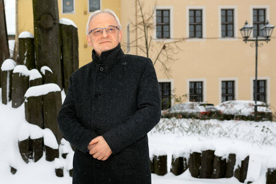 Uwe Steglich (FDP), Bürgermeister von Stolpen, über geplante Investitionen und Herausforderungen im Jahr 2021.