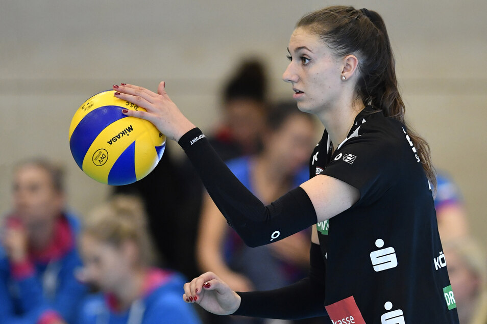 Lene Stigrot vom Dresdner SC kämpft mit um das Olympia-Ticket.