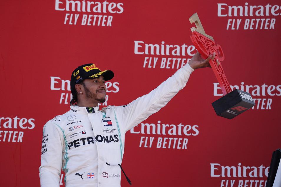 Der Sieger  in Spanien heißt Lewis Hamilton.