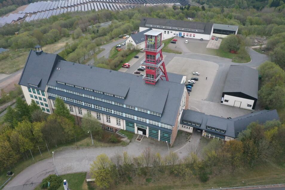 Hier auf dem ehemaligen Gelände von Zinnerz Altenberg könnte auch die Aufbereitung des Lithium-Erzes geschehen. Von dieser Entscheidung hängen dann auch die weiteren Transportwege ab.
