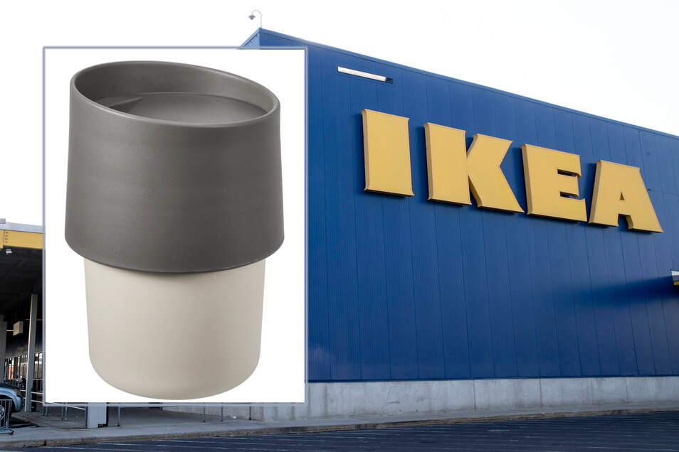"""Ikea-Kunden sollten den  Becher """"Troligtvis"""" nicht benutzen."""