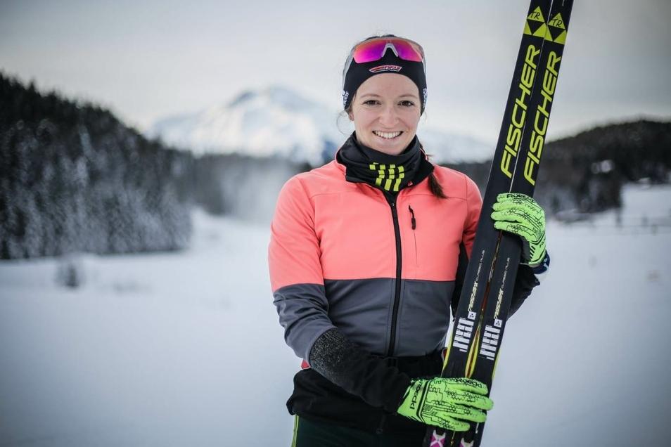 Auf Skiern zum dritten Platz: Julia Preußger