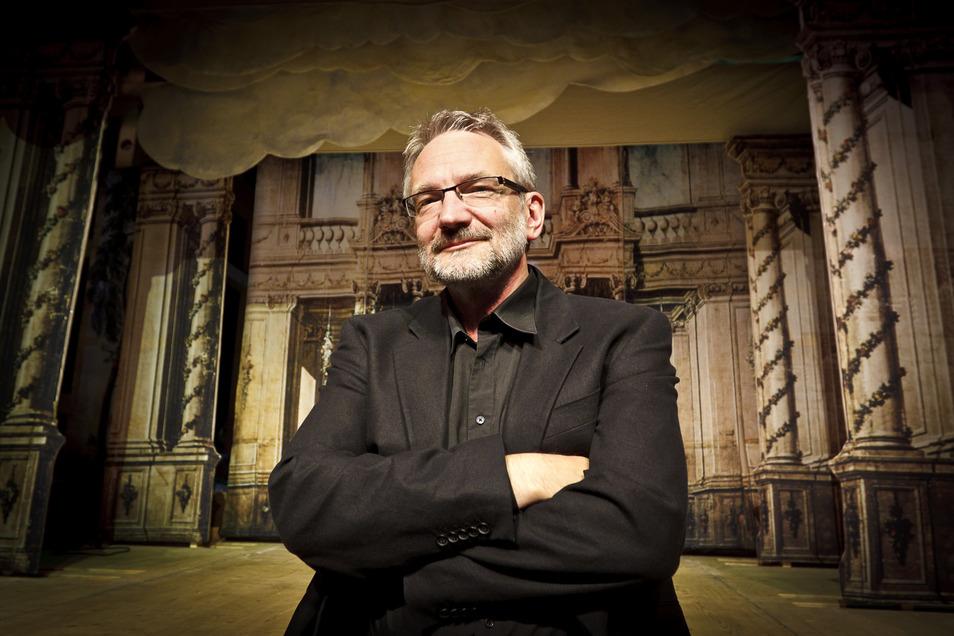 Theater-Intendant Klaus Arauner.