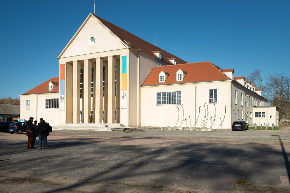 Das Festspielhaus Hellerau war das erste bühnenlose, offene Theater der Moderne.