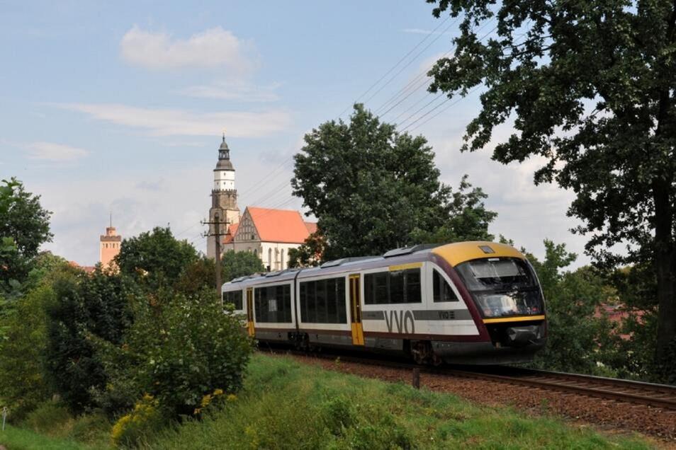 Zwischen Kamenz und Senftenberg verkehrt die Seenlandbahn. An zwei Tagen gibt es Schienenersatzverkehr.