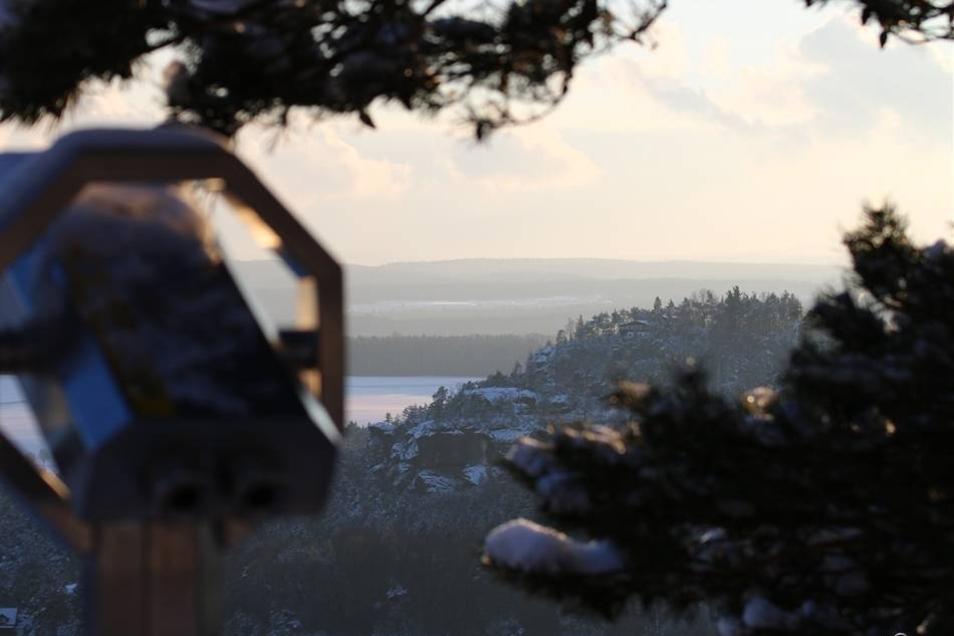 Pirna. Ein Fotofraf aus Pirna, der nicht genannt werden möchte, hat Mitte Januar dieses Foto auf der Bastei gemacht, bei hervoragendem Sonnenschein und kalten Temperaturen, wie er schreibt.     Foto:  /  /