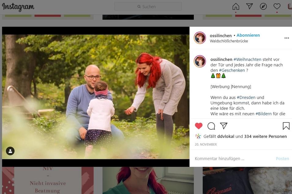 Auf Instagram folgen Sarah inzwischen fast 12.000 Menschen.
