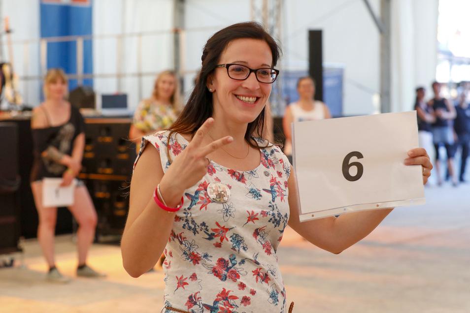 Nadine Schneider aus Eibau hat den erstmals ausgetragenen Wettbewerb gewonnen.