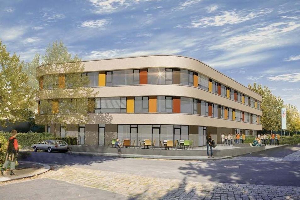 Das geplante neue Schulzentrum.