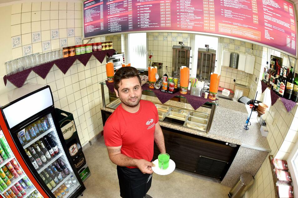 Mahmoud Al Rashid eröffnet nach Seifhennersdorf in Neugersdorf sein zweites Geschäft.