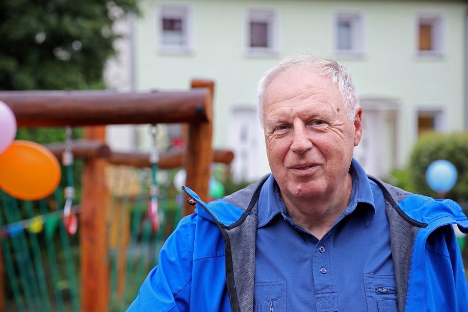 Roland Rode von Spielplatzbau Rode hatte mit langen Lieferzeiten zu kämpfen.