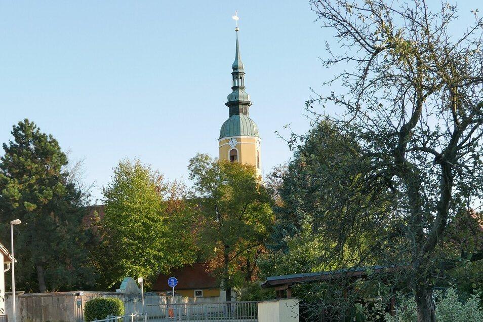 Die evangelische Kirche von Königswartha hat solche Zeiten auch noch nicht gesehen.