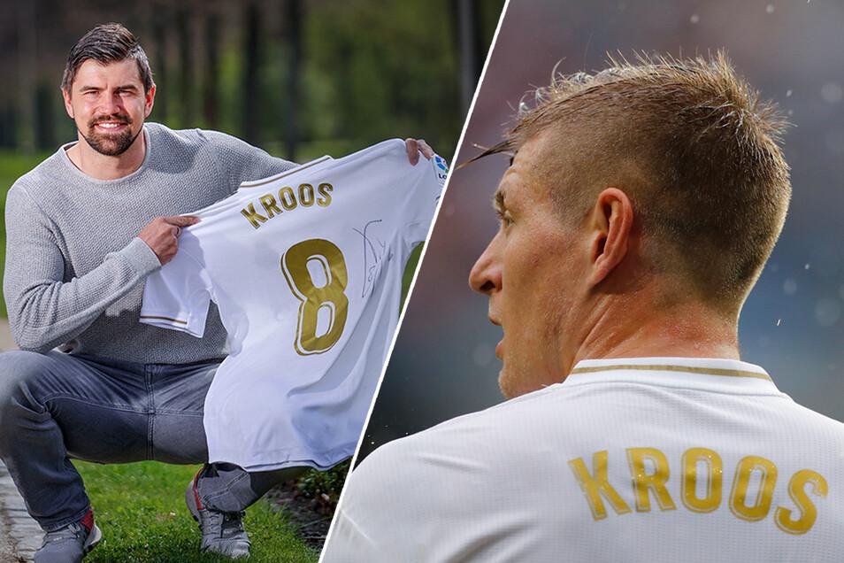 Im April konnte Benjamin Kirsten bereits das Real-Trikot von Toni Kroos für einen Rekordwert versteigern.