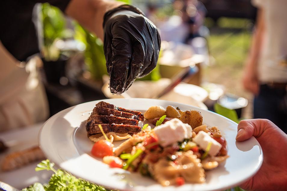 Das Auge isst mit! Mit frisch angerichteten Zutaten entstehen Gerichte zum anbeißen.